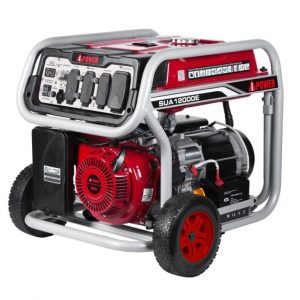 A-iPower SUA12000E 12,000-Watt Portable Generator Gas Powered Electric Start
