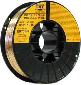 Inefil ER70S-6 Carbon Steel Mig Solid Welding Wire