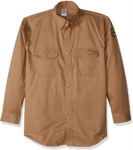 Revco Black Stallion Flame Resistant Cotton Work Shirt