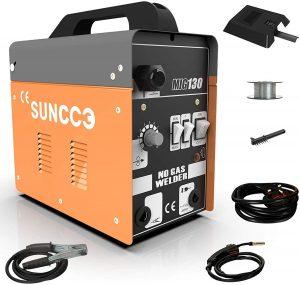Suncoo130 MIG Welder Flux Core Wire Automatic Feed Welding Machine