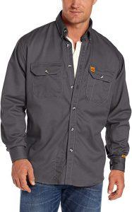 Wrangler Men's Fire-Resistant Work Shirt